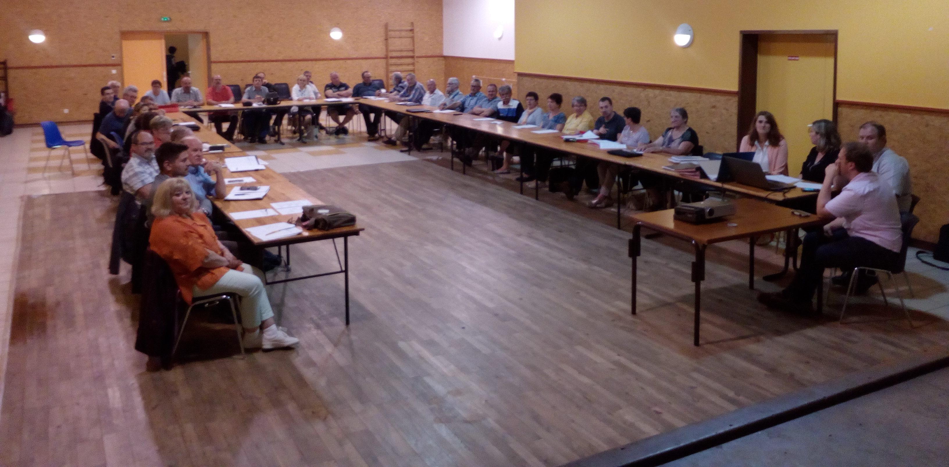 Conseil communautaire - CHAVANON COMBRAILLES ET VOLCANS