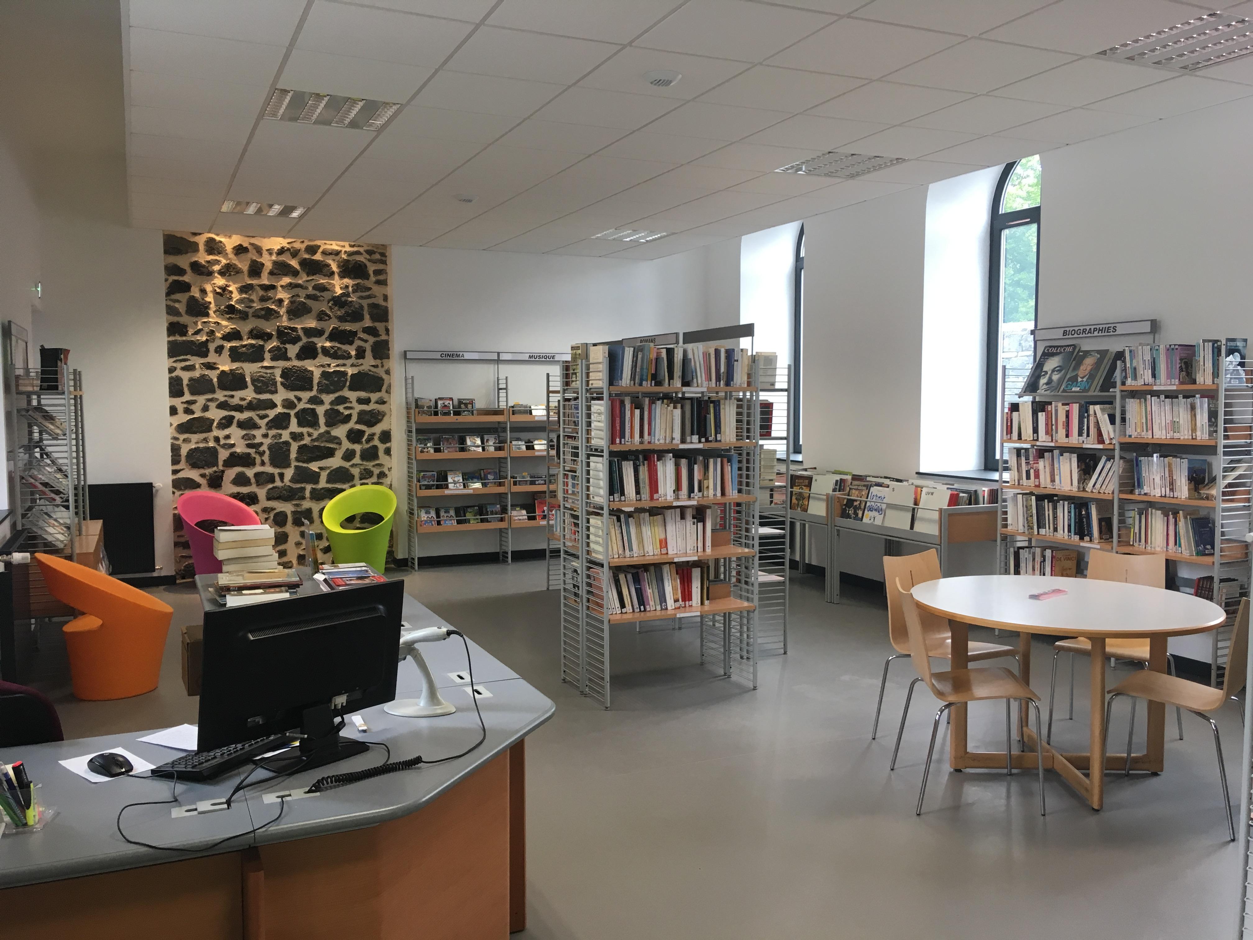 Médiathèque de Pontgibaud - Juin 2017