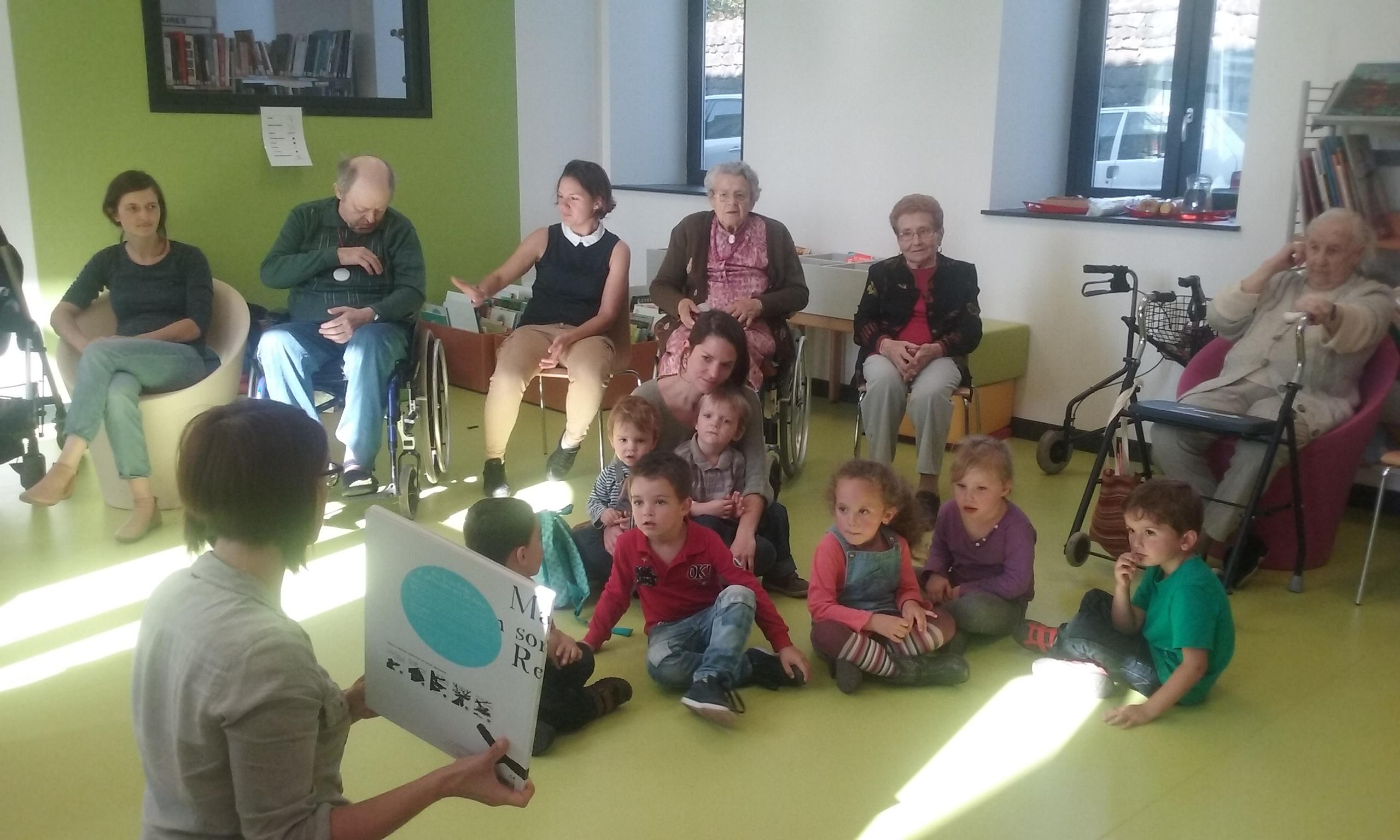 Enfance jeunesse lecture publique centre action sociale Chavanon Combrailles et Volcans