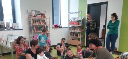 Atelier lecture à la médiathèque de Pontgibaud