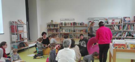 Une réussite pour la première séance Bébés Lecteurs à la Médiathèque de Pontgibaud