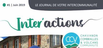 Inter'actions, le journal de votre intercommunalité #1