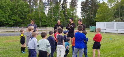 Les accueils de loisirs et l'Ecole de Rugby de Cisternes-La-Forêt s'associent…