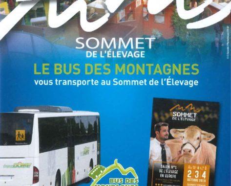 Le Bus des Montagnes au Sommet de l'Elevage