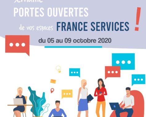 Semaine portes ouvertes France Services du 05 au 09 octobre