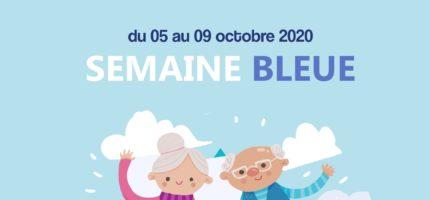 Semaine Bleue 2020 : un programme pour les + de 60 ans du 05 au 09 octobre !