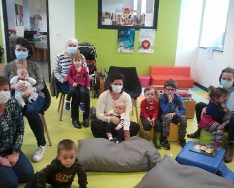 Rentrée des bébés lecteurs à la médiathèque de Pontgibaud