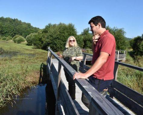 Réaménagé il y a deux ans, le ruisseau de Mazayes, à Saint-Pierre-le-Chastel retrouve doucement une vie sauvage