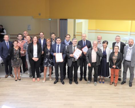 Signature du Contrat Local de Santé des Combrailles le 24 septembre 2021 à la salle polyvalente de Pontaumur