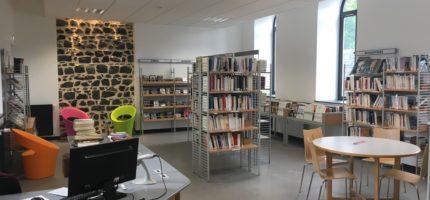 Ouverture de la Médiathèque Intercommunale de Pontgibaud
