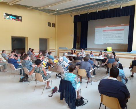 Première réunion du nouveau Conseil d'Administration au CIAS Chavanon Combrailles et Volcans
