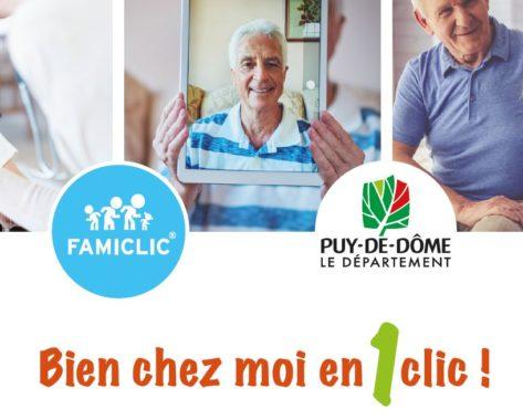 """Opération """"Bien chez moi en un clic"""", les usages numériques qui facilitent le maintien à domicile des aînés!"""