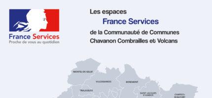 Chavanon Combrailles et Volcans renforce ses services de proximité avec la labellisation d'une 5ème France Services !