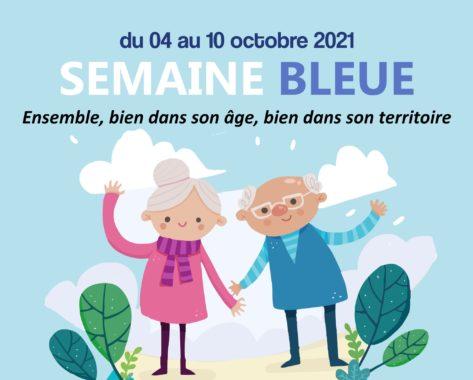 + de 60 ans : rendez-vous du 4 au 10 octobre pour la Semaine Bleue !